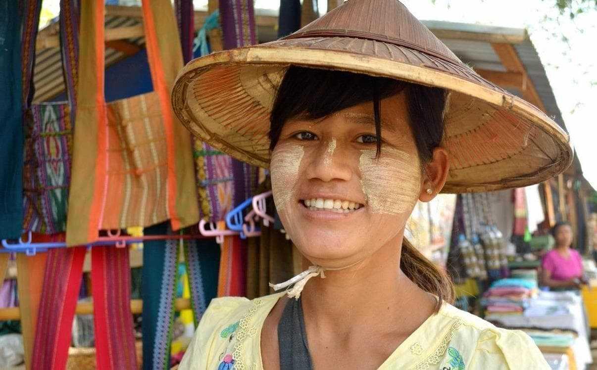 Мьянмар люди