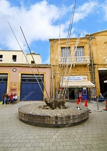 Разрушение границы в городе Никосия