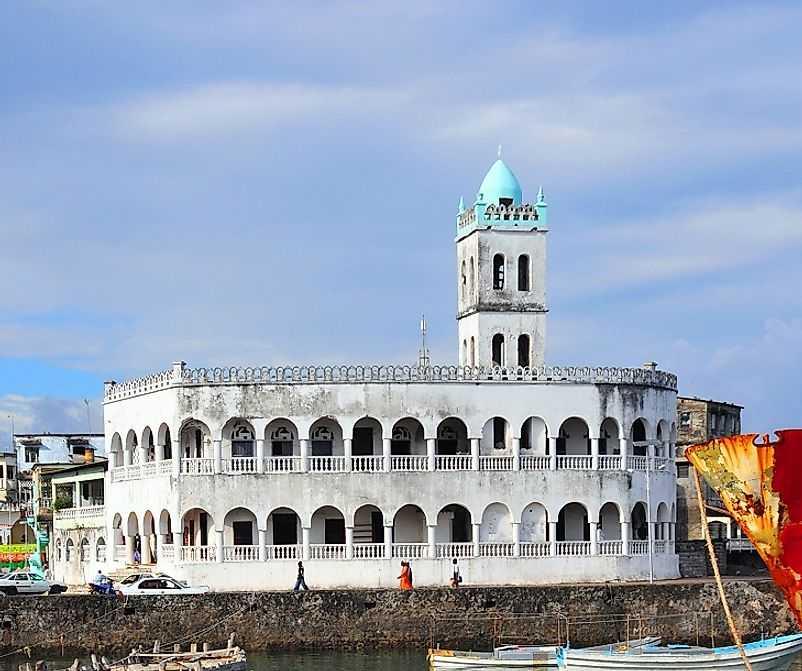Религия на Коморских островах