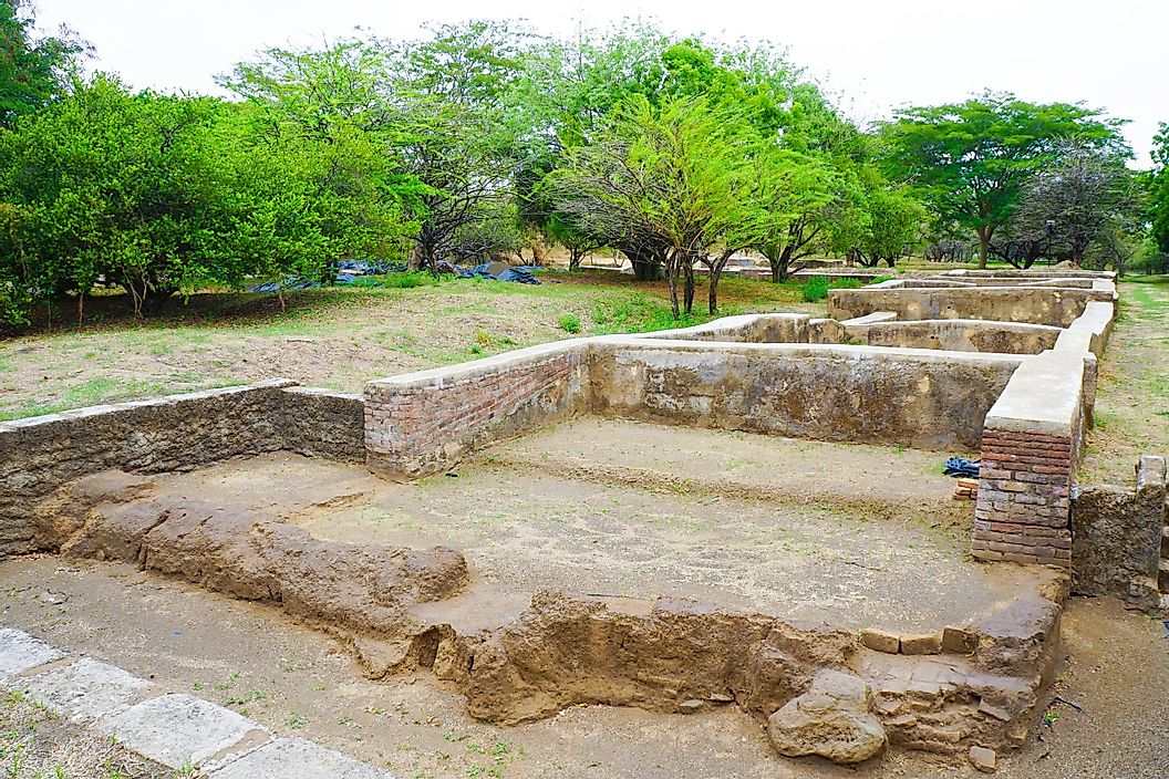 Руины Леона Вьехо, Никарагуа