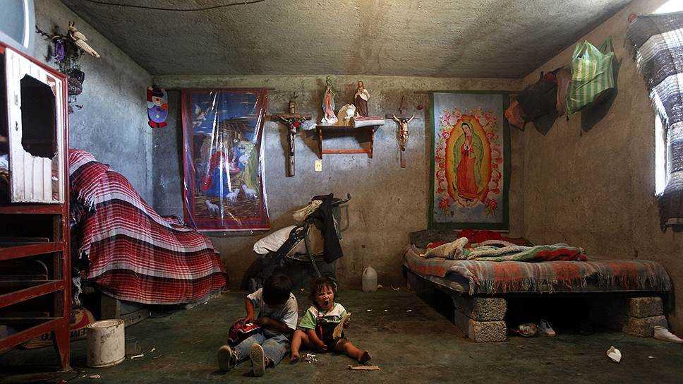 Южная Мексика Беднее
