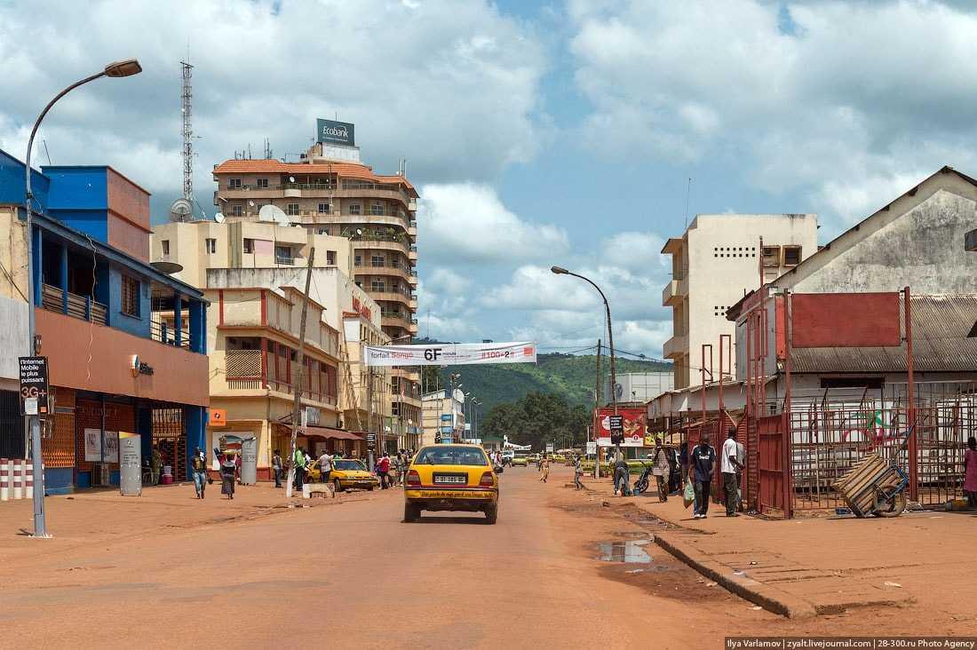 Центральноафриканская Республика туризм