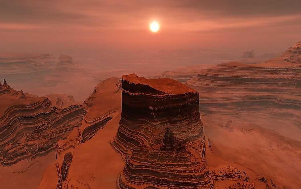 Как выглядит Марс?
