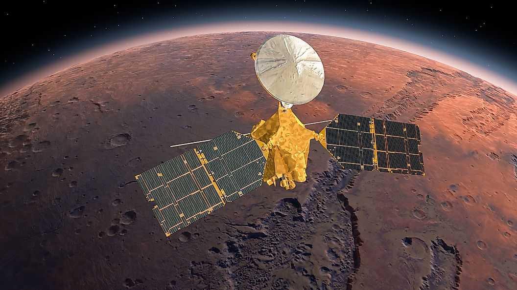Есть ли у Марса атмосфера?