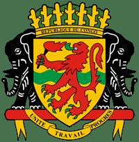 Герб страны Конго