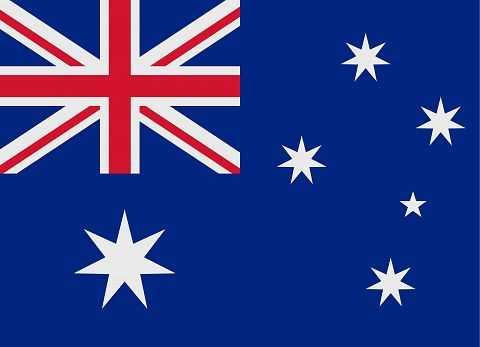 Флаг государства Австралии