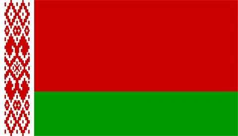 Флаг государство Беларусь.