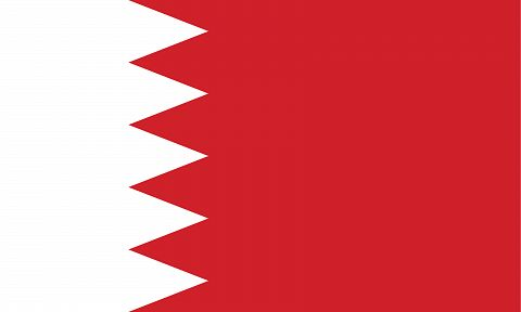 Флаг королевства Бахрейн