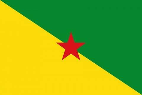 Флаг Французской Гвианы