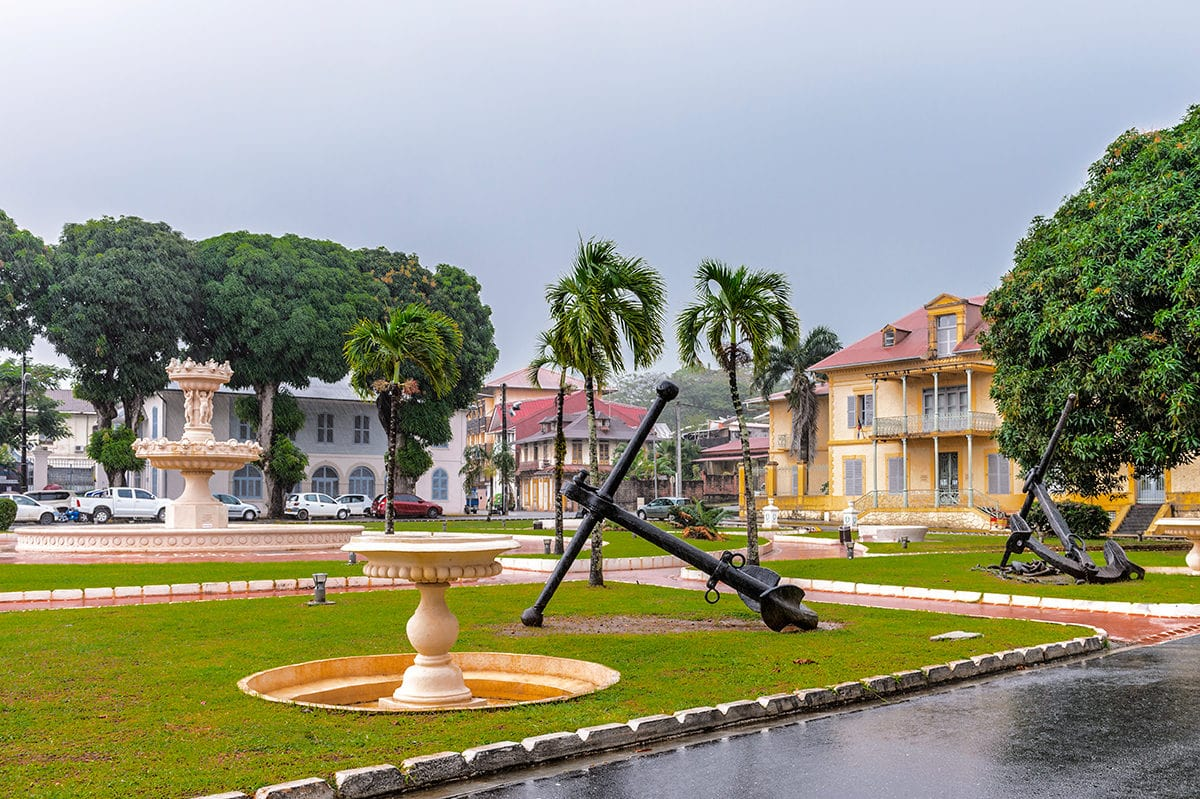 Кайенна французская Гвиана