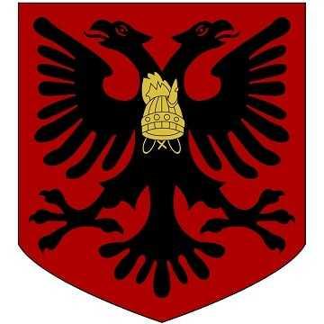Герб страны Албания