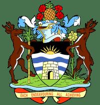 Герб государства Анти́гуа и Барбу́да