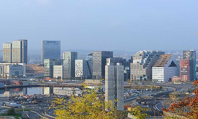 Крупнейшие города Норвегии
