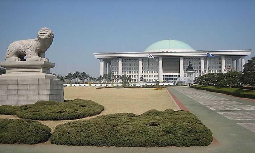 Крупнейшие города Южной Кореи