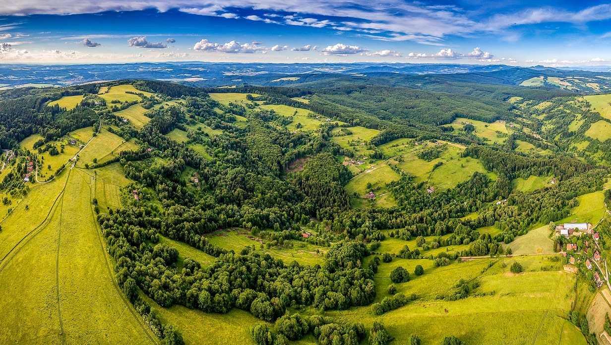 Ландшафт Чехии
