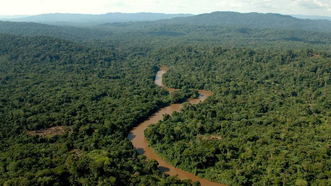 Ландшафт Демократической Республики Конго