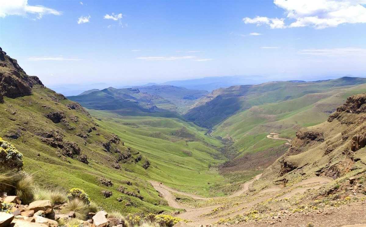 Лесото природа
