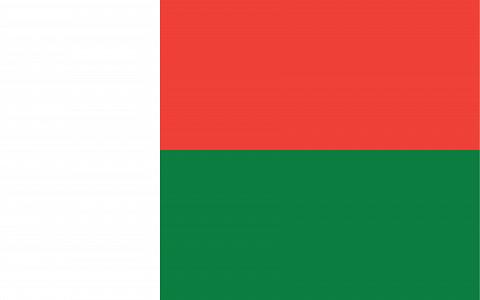 Мадагаскар флаг