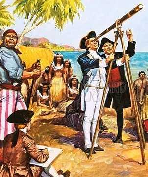 Открытие островов кука