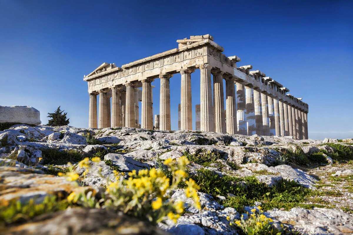 Парфенон Афинский Акрополь
