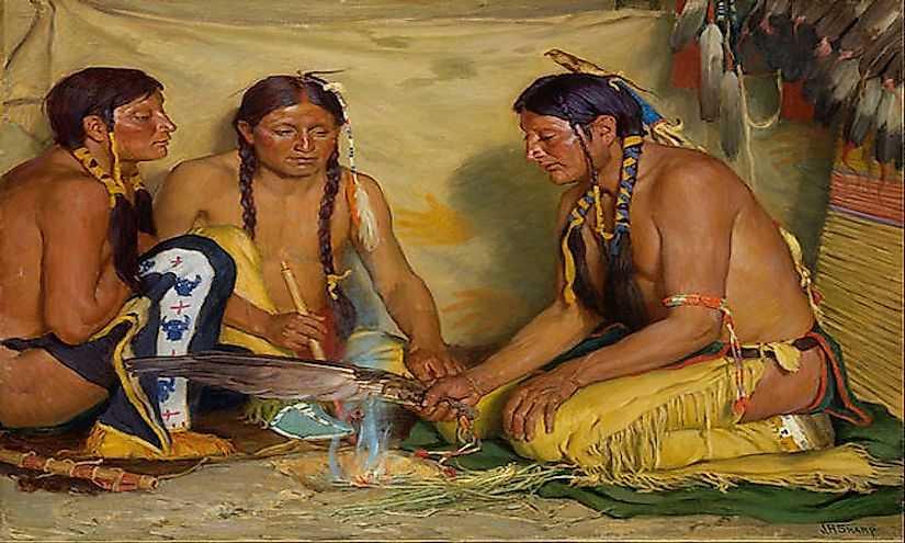 Культура Племени Черноногих индейцев