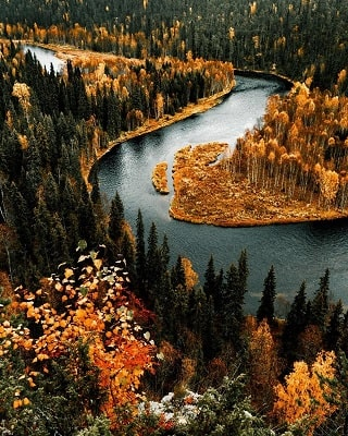 Финляндия природа