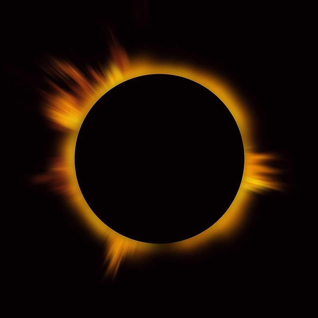 Слои солнца - Корона