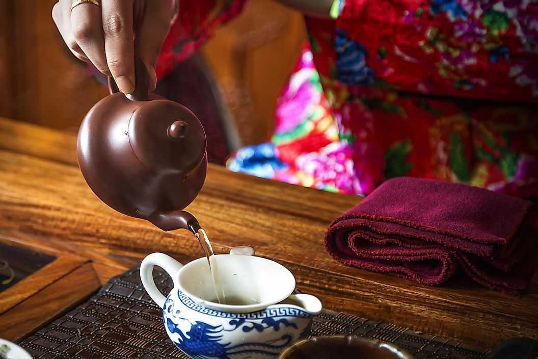 Страны лидеры по производству чая