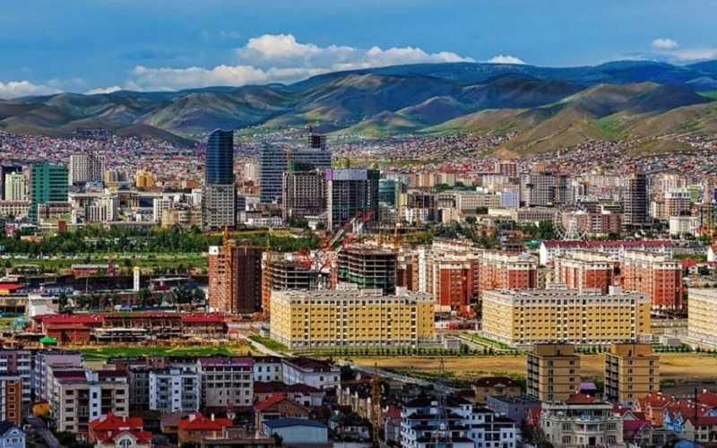 Столица Монголии Улан-Батор