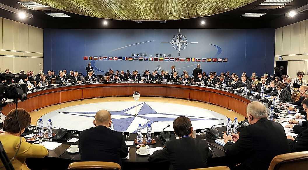 Крупнейшие военные операции НАТО