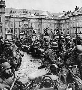 Оккупация Чехии немецкими войсками